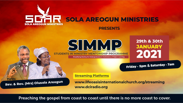 Students in Ministry Mentorship Programme (Janaury 2021 Edition)
